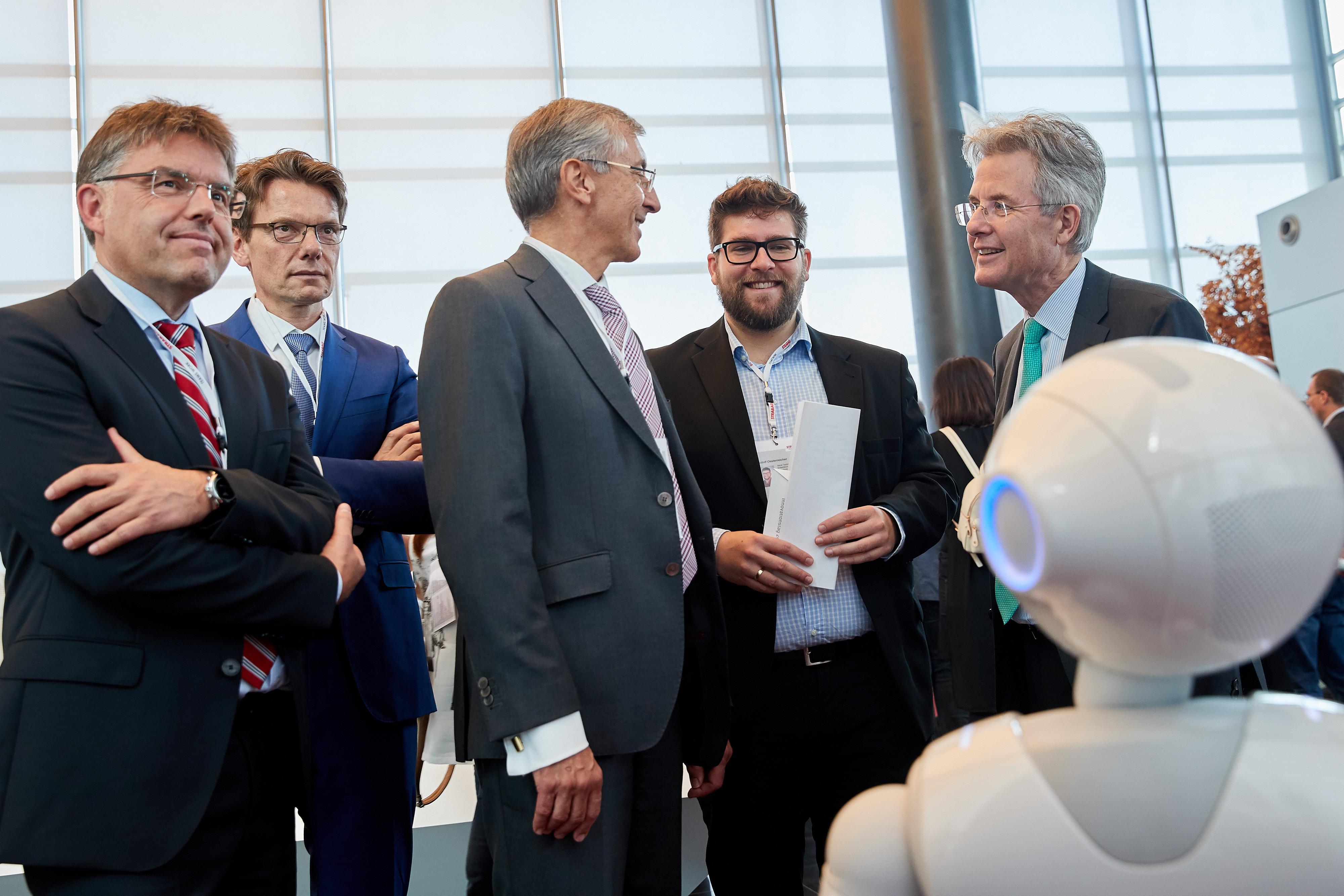 Vorstandsmitglieder beim STRABAG Innovation Day 2019